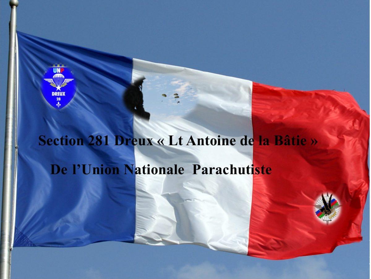 """Section 281 Dreux """"Lieutenant Antoine de La Bâtie"""""""