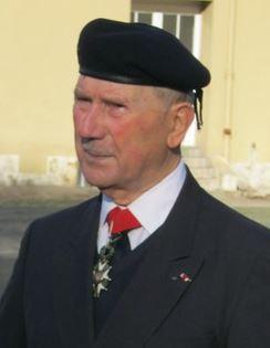 L'adudant-chef Jacques GRISOLET  élevé à la dignité de Grand Officier de la Légion d'Honneur